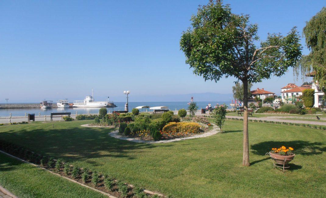 Stad Ohrid haven
