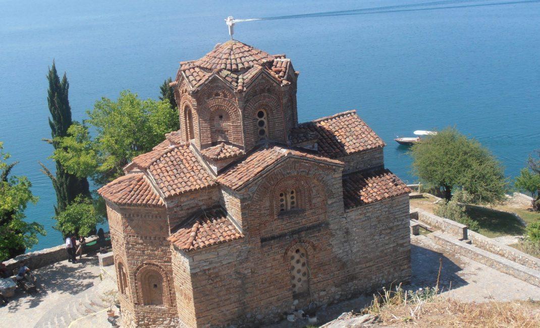 kerk Sveti Jovan Kaneo Ohrid