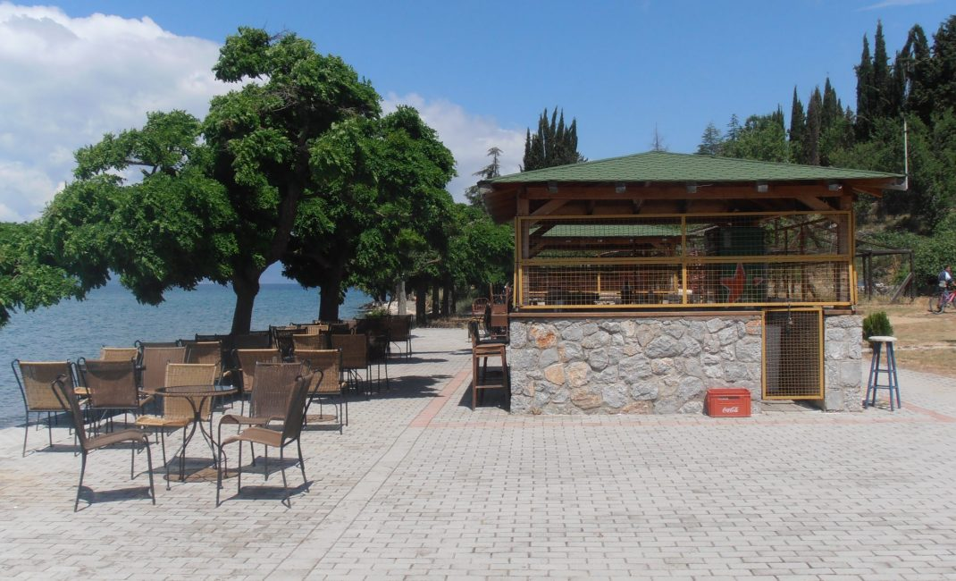 strandbar Ohrid