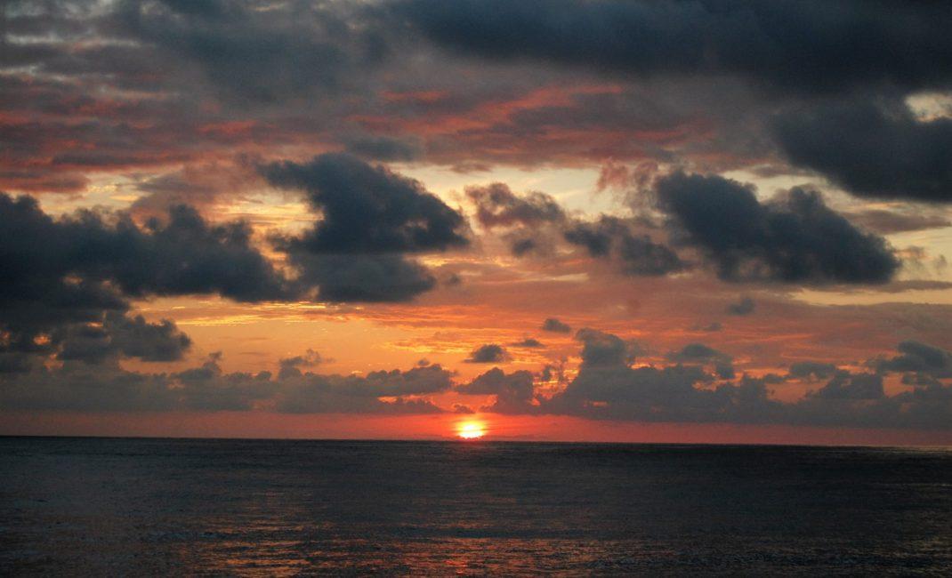 4. Steeds die prachtige sunset