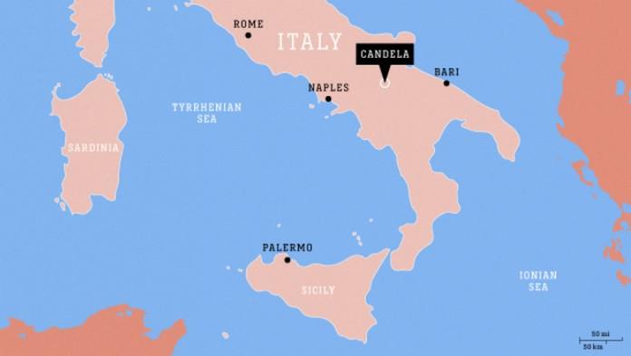 Candela emigreren naar Italië
