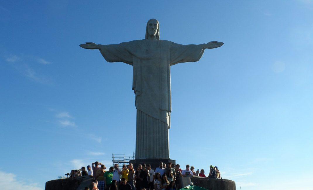 Dé cliché foto voor als je in Rio bent.. Wel even de massa toeristen tolereren.