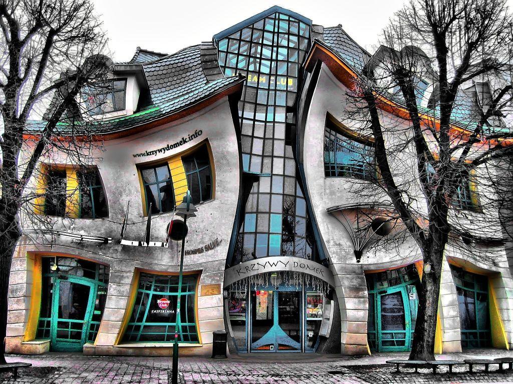 bizarre gebouwen