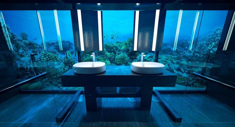 onderwater villa