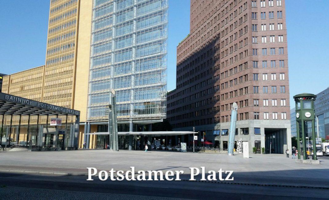Berlijn Potsdamer platz