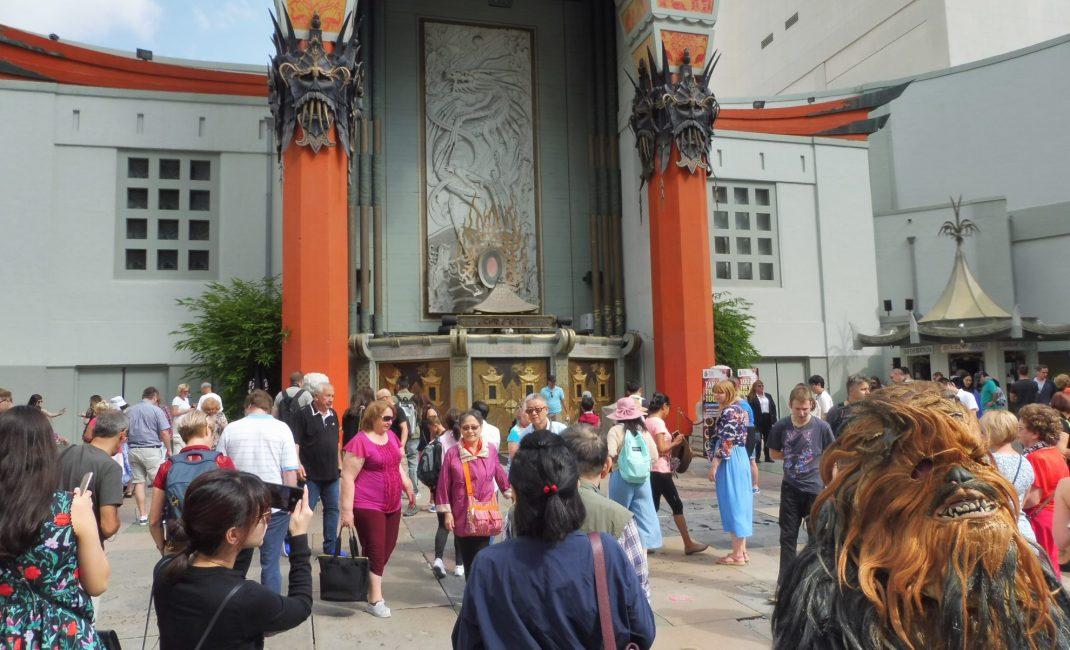 Chinese Theatre, inclusief Chewbacca