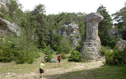 Arcs de Saint Pierre - Causse Méjean - Frankrijk