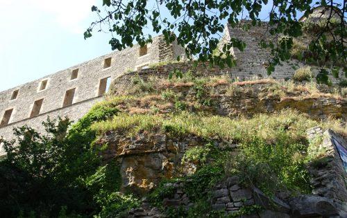 het kasteel - Sévérac-le-Chateau - Frankrijk