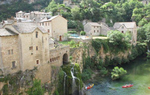 Saint-Chély-du-Tarn - Gorges du Tarn - Frankrijk