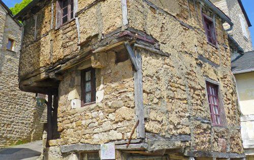 maison de Jeanne, oudste huis - Sévérac-le-Chateau - Frankrijk