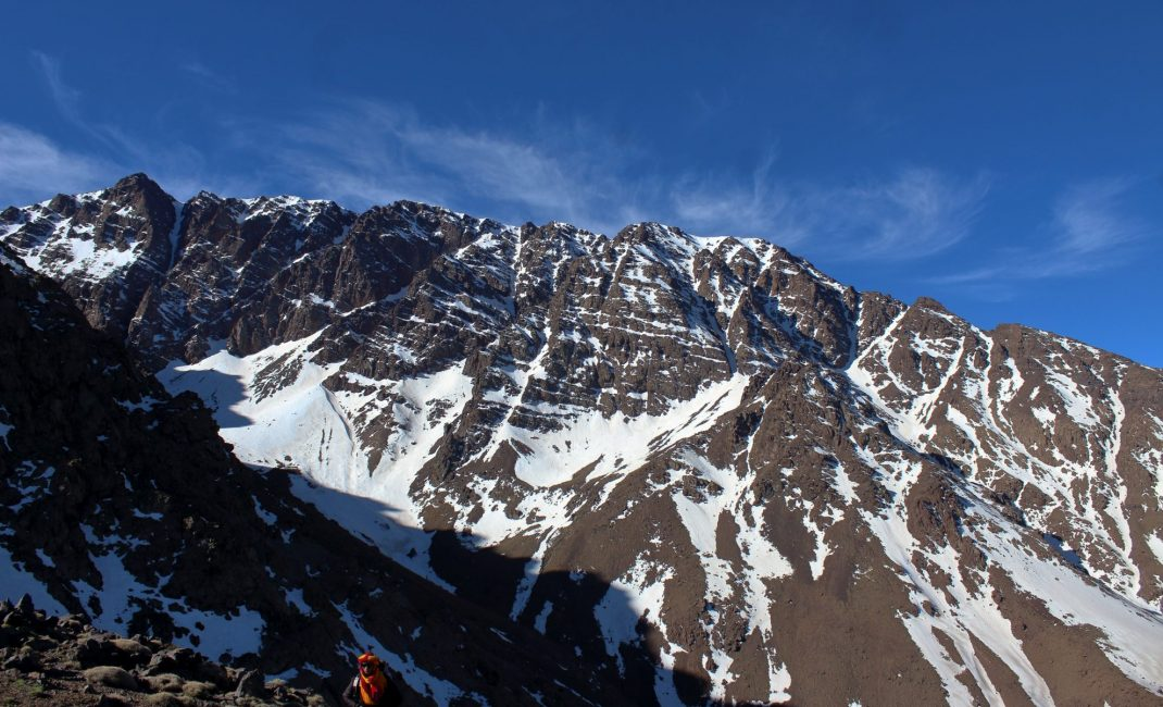 Pieken tot 4.000 m