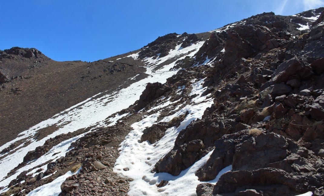 Wandelpad naar 3.600 m