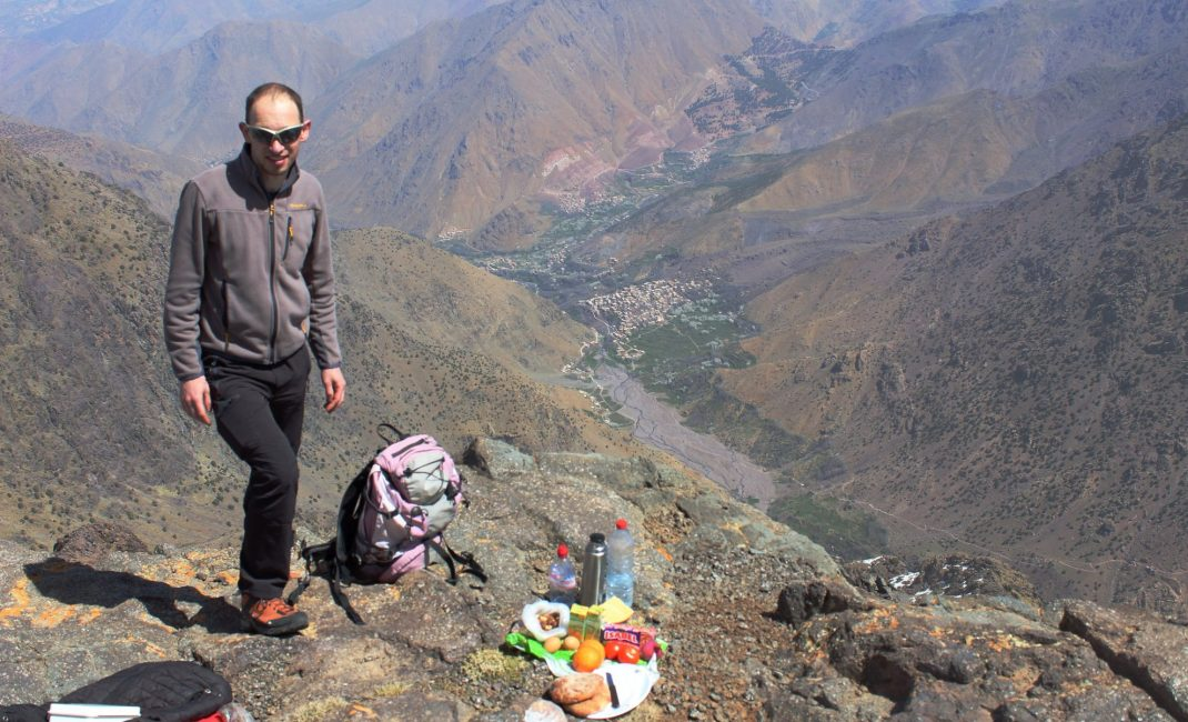 Picknick op 3.600 m hoogte