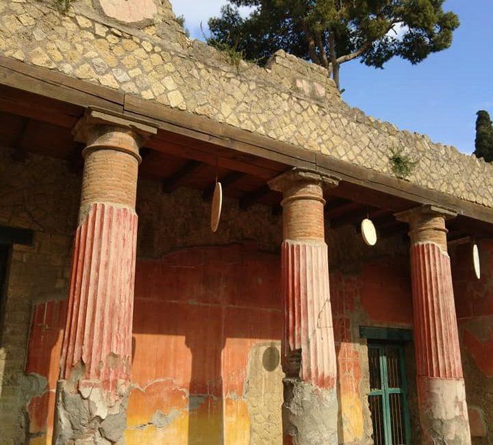Romeinse villa in Ercolano