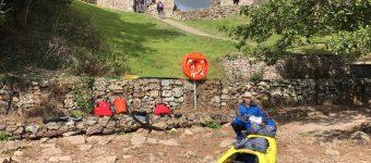 Aanleggen bij Urquhart Castle