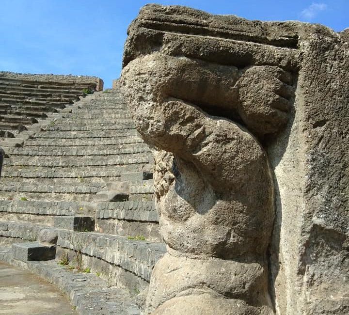 amfi theater in pompeï
